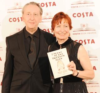 Foto recente (29 gennaio 2013) di Bryan e Mary, in occasione della consegna del premio Biography Costa Book Award 2012.