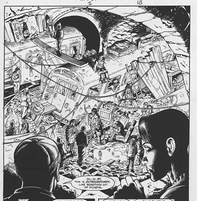 """Vignetta estratta dalla miniserie """"The Dead Boy Detectives and the Secrets of Immortality"""", written by Ed Brubaker."""