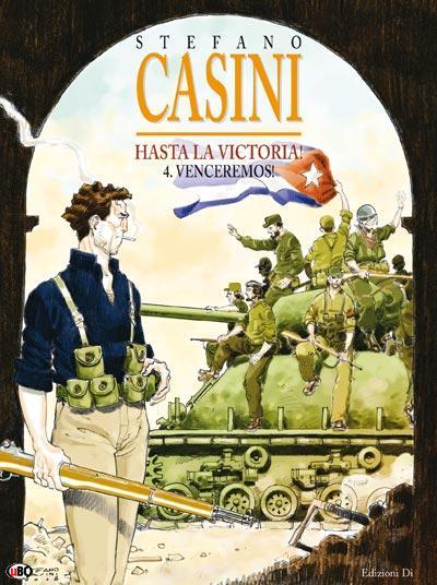 Cover - Volume 4 -disegni e colori di Stefano Casini (c) 2009 Editions Mosquito