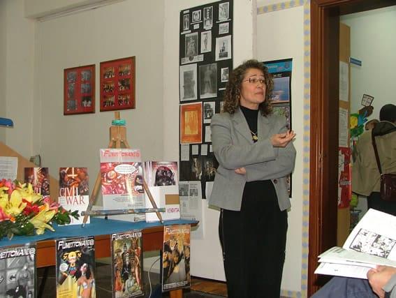 Antonina Saja, Responsabile della Biblioteca Oasi, sez. Ragazzi, di Barcellona P.G.