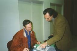 Mario Benenati incontra il suo idolo François Boucq, uno dei grandi autori francesi degli ultimi dieci anni.