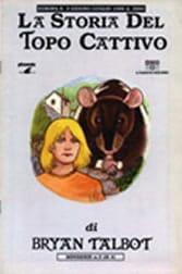"""La copertina della miniserie 'La storia del topo cattivo"""". Autore Bryan Talbot, Editore Phoenix."""