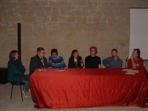Foto degli incontri al Comicon, con gli autori tedeschi.