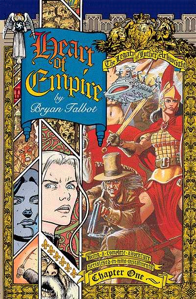 Copertina del volume Earth of Empire, continuazone della saga di luther Arckwright. Per gentile concessione