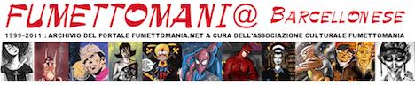 Banner del sito fumettomania del 2010-11