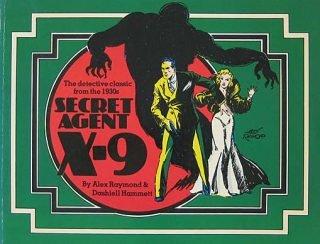 Cover di Secret Agent X-9.