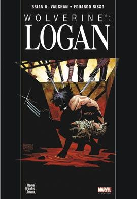 copertina del cartonato WOLVERINE: LOGAN