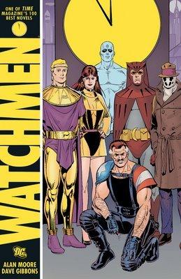 pw_watchmen - Copertina del volume Watchmen. Ristampato in Italia nel 2009 dalla Planeta DeAgostini