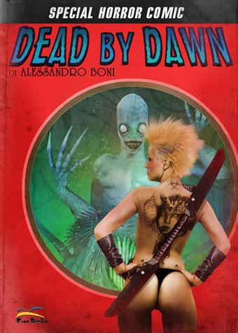 Cover provvisoria del secondo volume di Melting Pulp ora DEAD BY  DAWN. Per gentile concession