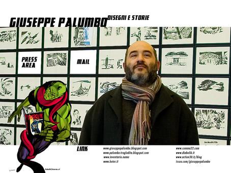 home page del sito www.giuseppepalumbo.com