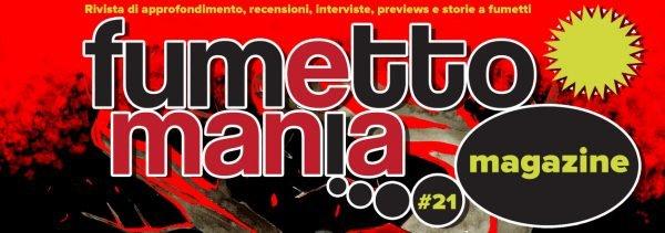 banner dello speciale LE DONNE NEL FUMETTO, ovvero fumettomania n. 21