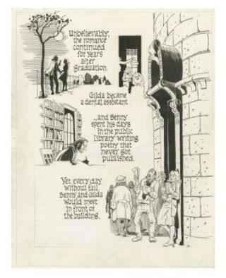 una delle tavole tratte dal graphic novel: Bronx 1930