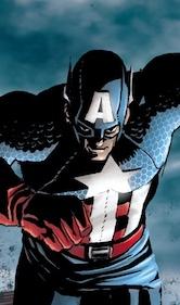 Tributo a Cap.America, di Oscar Celestini. © Marvel Comics