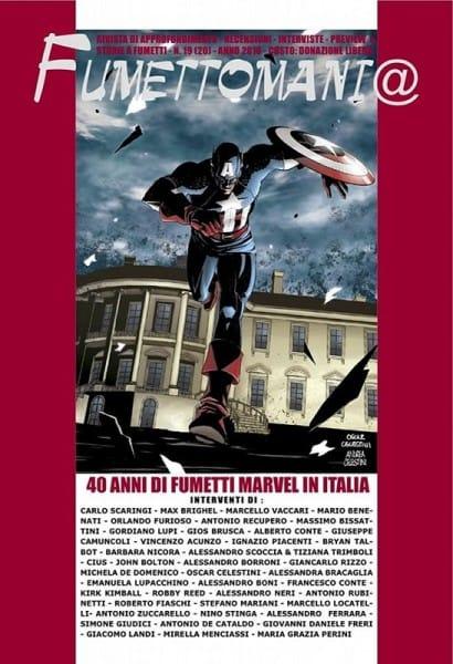 copertina del n. 19 di Fumettomania (il primo in versione digitale)