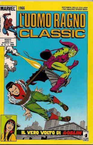 Copertina de Uomo Ragno Classic (Star Comics) - Amazing Spiderman 39