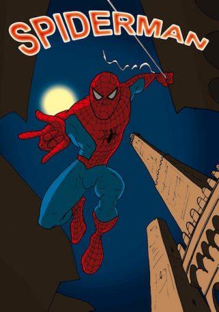 33_Tributo a spiderman di Giacomo Landi