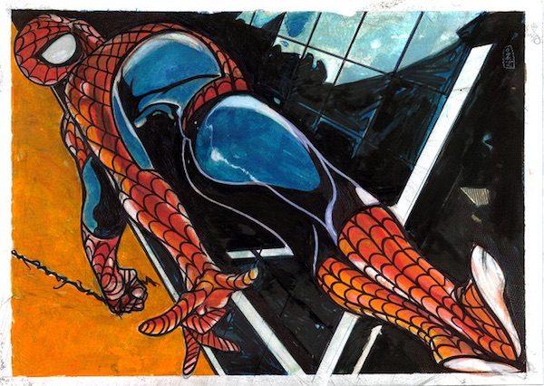 34_ Tributo a spiderman di Nino Stinga