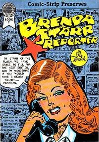 Donne nel fumetto - copertina della serie Brenda Starr Reporter.