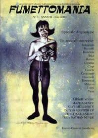 copertina del n. 3 di Fumettomania