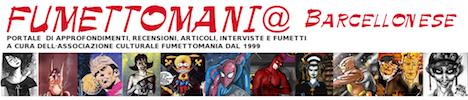 testata del sito originario di Fumettomania del 2010-11