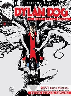 """1470145079202.jpg. Copertina del brossurato. """"dylan dog - il nero della paura n_02. copertina di gianluca cestaro."""