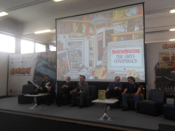 Comicon 2012: Altro incontro con  Gomboli, Castelli, Boschi, Alessandrini e Filippucci
