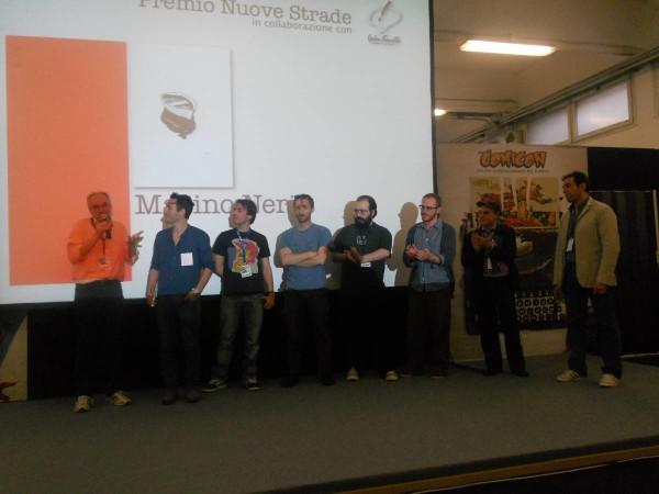 Comicon 2012:  premiazione  acura del centro fumetto A.Pazienza