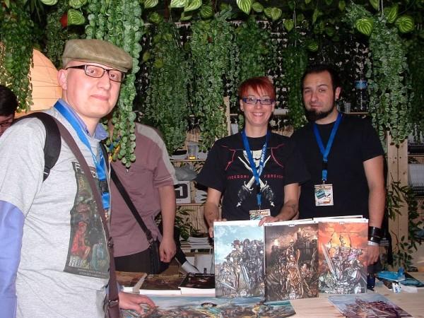 Comicon 2012: alcuni amici del GCStudio