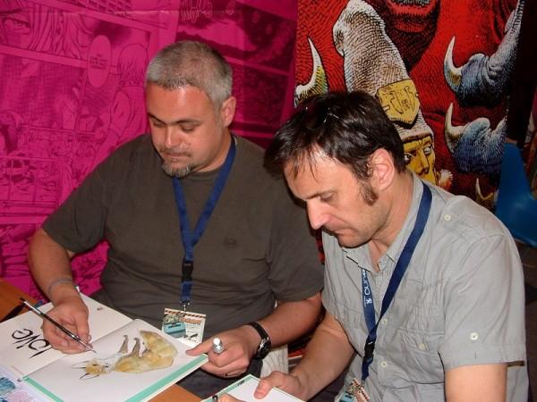 """Comicon 2012: F. Bertolucci e Brrémaud, dedicano il loro volume. """"Love"""""""