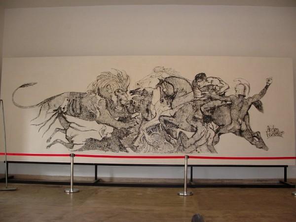 Comicon 2012: lo stratosferico disegno di Andrea Pazienza, per la priva volta cisitabile