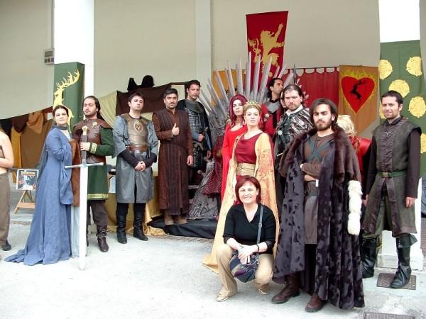 Comicon 2012: Cospaly Medievali
