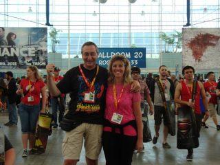 SD_DSC01367 :  ce l'abbiamo fatta, siamo al Comic Con!!!