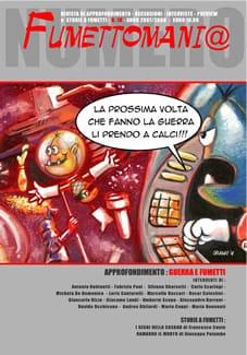 copertina del n. 18 di Fumettomania