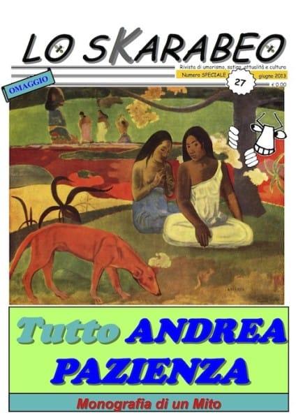 lo Skarabeo 27 SPECIALE - Tutto Andrea Pazienza _copertina