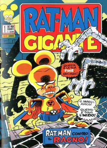 Per gentile concessione di Leo Ortolani, direttamente dal suo blog, ecco la copertina del n.1 di Rat-Man Gigante, in edicola in Sicilia tra alcuni giorni. © degli aventi diritti
