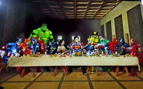 """Attuale banner del gruppo """"I Fumetti sono una cosa seria""""- © degli autore, per gentile concessione"""