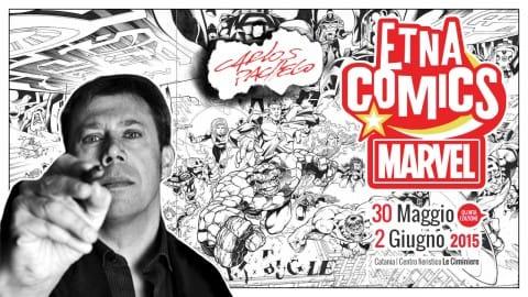 2015-03-20_Locandina Carlos Pacheco ad Etna Comics 2015