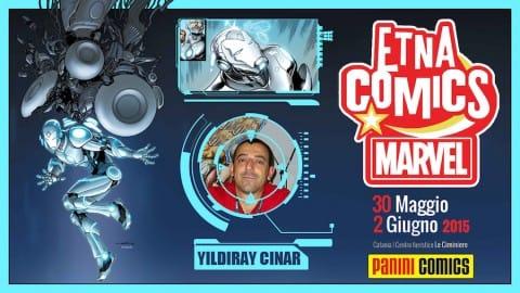 2015-04-09_Locandina Yildiray Cinar ad Etna Comics 2015