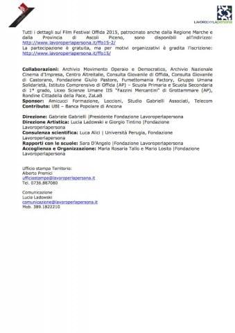 Comunicato stampa Film Festival Offida_Sulla stessa barca2