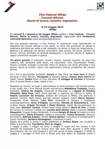 Comunicato stampa Film Festival Offida_pag1