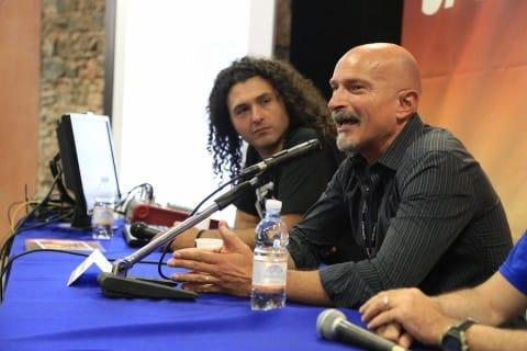 Claudio Castellini ad Etna Comics 2015