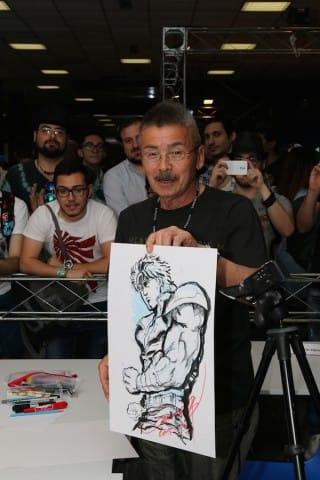 Masami Suda ad Etna Comics 2015