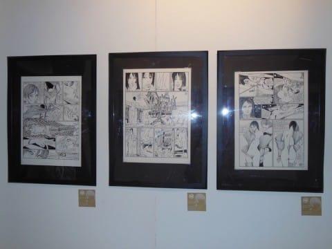 3 tavole della mostra su Valentina