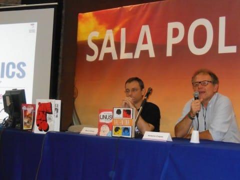 Incontro di Marco Grasso con Antonio Crepax