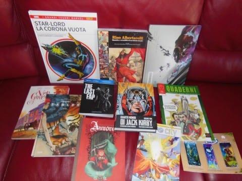 i miei acquisti ad etna comics