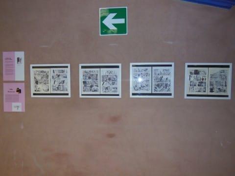 tavole di Leio bonaccorso -mostra giro d'italia