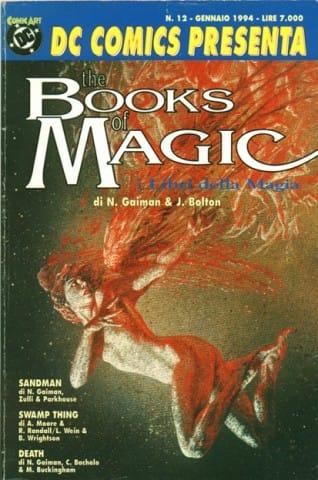 """DC PRESENTA n. 12 contenente il primo capitolo di """"Books of Magic"""" dipinto da John Bolton"""