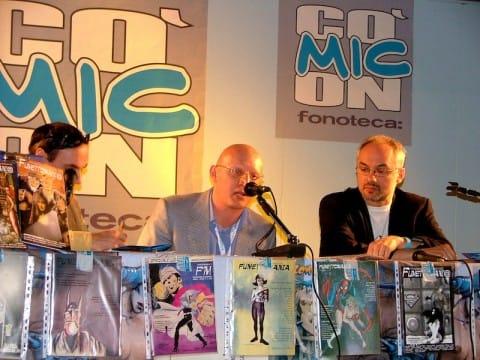 2007_presentazione rivista al Comicon
