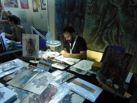 Ignazio disegna
