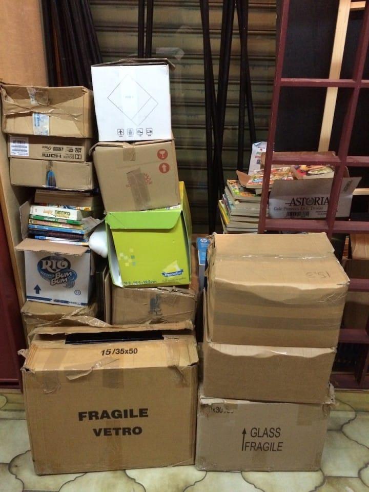 altri 4 scatoli
